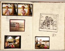 "Gillian Laub<br /> <em>Testimony Journal #13,</em> 2002<br /> Chromogenic prints<br /> 20 x 24""  Edition of 8<br /> 30 x 40""  Edition of 5<br /> 40 x 50""  Edition of 3"