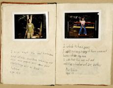 "Gillian Laub<br /> <em>Testimony Journal #4,</em> 2002<br /> Chromogenic prints<br /> 20 x 24""  Edition of 8<br /> 30 x 40""  Edition of 5<br /> 40 x 50""  Edition of 3"