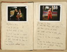 "Gillian Laub<br /> <i>Testimony Journal #6, </i>2002<br /> Chromogenic prints<br /> 20 x 24""  Edition of 8<br /> 30 x 40""  Edition of 5<br /> 40 x 50""  Edition of 3"