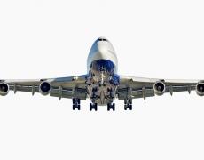 "Jeffrey Milstein<br /> <em>British Airways Boeing 747-400, </em>2006<br /> Archival pigment prints<br /> 20 x 40""  Edition of 15<br />30 x 60"" or 36 x 72""  Shared edition of 10<br />"
