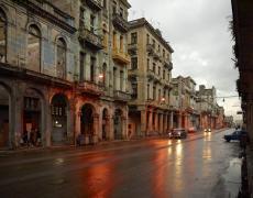 """Jeffrey Milstein<br /> <em>Havana Centro, Simon Bolivar, </em>2009<br /> Archival pigment prints<br /> 30 x 40""""  Edition of 8<br /> 42 x 56""""  Edition of 5"""