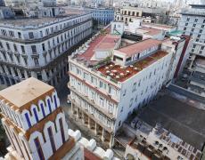 "Jeffrey Milstein<br /> <em>View of Havana Centro 1, </em>2009<br /> Archival pigment prints<br /> 30 x 40""  Edition of 8<br /> 42 x 56""  Edition of 5"