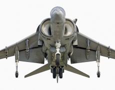 "Jeffrey Milstein<br /> <em>Marines McDonnell Douglass AV-88 Harrier II, </em>2008<br /> Archival pigment prints<br /> 20 x 40""  Edition of 15<br /> 25 x 50"", 30 x 60"" or 36 x 72""  Shared edition of 10<br />"