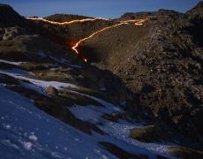 """<em>The Lewis Glacier, Mt. Kenya, 1963(B), 2014</em><br /> <div> Digital chromogenic prints</div><br> 40 x 30""""  Edition of 6 + 2 APs"""