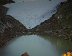 """<em>The Lewis Glacier, Mt. Kenya, 2004(A), 2014</em><br /> <div> Digital chromogenic prints</div><br> 40 x 30""""  Edition of 6 + 2 APs"""