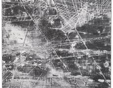 "Rey Parlá<br /> <i>Concrete Freeze Frame</i>, 2016<br /> C-print (unique)<br /> 31.5 x 25.75"""