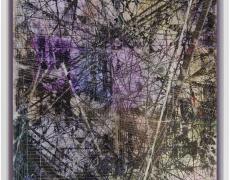 "Rey Parlá<br /> <i>Free Fabricated Alternative Fantasy</i>, 2015<br /> C-print (unique)<br /> 26.5 x 20.25"""