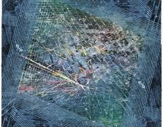 "Rey Parlá<br /> <i>Human Dynamical Engaged Movements</i>, 2016<br /> C-print (unique)<br /> 24 x 18"""
