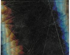 "Rey Parlá<br /> <i>Kinetic Lumino 06</i>, 2017<br /> C-print (unique)<br /> 20 x 17"""