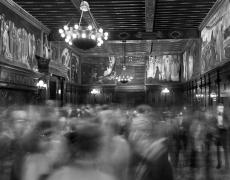 """Matthew Pillsbury<br /> <i>Save Venice's Capriccio Veneziano, Boston Public Library, </i>2014 (TV14690)<br /> Archival pigment ink prints<br /> 20 x 24""""  Edition of 10<br /> 30 x 40""""  Edition of 6 (plus 2 APs)<br /> 50 x 60""""  Edition of 2 (plus 1 AP)"""