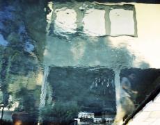 """Karine Laval<br /> <em>Poolscape #17</em>, 2010<br /> Chromogenic print<br /> 20 x 20""""  Edition of 15<br /> 30 x 30""""  Edition of 9<br /> 50 x 50""""  Edition of 5"""