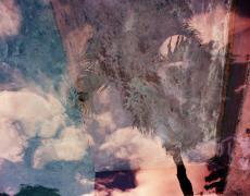 """Karine Laval<br /> <em>Poolscape #82</em>, 2010<br /> Chromogenic print<br /> 20 x 20""""  Edition of 15<br /> 30 x 30""""  Edition of 9<br /> 50 x 50""""  Edition of 5"""