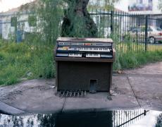 "Richard Renaldi<br /> <em>Galaxy 8122, Los Angeles, California, </em>2005<br /> Archival pigment prints<br /> 30 x 36""  Edition of 4 (plus 2 APs)<br /> 49 x 59""  Edition of 3 (plus 2 APs)<br />"