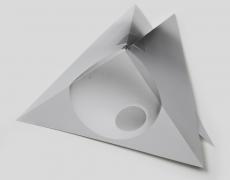 """Delphine Burtin<br /> <em>Untitled, Sans condition initiale series</em>, 2015<br /> Archival pigment print<br /> 23.563 x 13.813""""  Edition of 10 (plus 2 APs)"""
