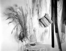 """Lauren Semivan<br /> <em>Ink, </em>2013<br /> Archival ink print<br /> 24 x 30""""  Edition of 10<br /> 40 x 50""""  Edition of 5"""