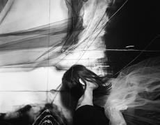 "Lauren Semivan<br /> <em>The Waves, </em>2012<br /> Archival ink prints<br /> 30 x 24""  Edition of 10<br /> 50 x 40""  Edition of 5"