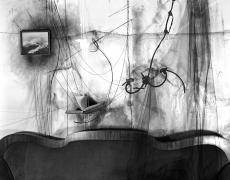"Lauren Semivan<br /> <em>Three Loves, </em>2012<br /> Archival ink prints<br /> 24 x 30""  Edition of 10<br /> 40 x 50""  Edition of 5"