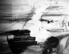 "Lauren Semivan<br /> <em>Wind #2, </em>2012<br /> Archival ink prints<br /> 24 x 30""  Edition of 10<br /> 40 x 50""  Edition of 5"