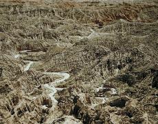 """Christopher Woodcock<br /> <em>Full Moon Over Borrego Badlands, Anza-Borrego Desert Research Center, </em>2013<br /> Digital C-Prints<br /> 30 x 40""""  Edition of 10<br /> 40 x 50""""  Edition of 6<br />"""