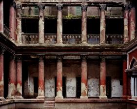 "Laura McPhee<br /> <em>Courtyard Mitra House, Kolkata, 2001</em><br /> Archival Pigment Ink Prints<br /> 30 x 40""  Edition of 5<br /> 40 x 50""  Edition of 5<br /> 50 x 60""  Edition of 5"