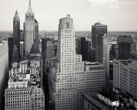 "Josef Hoflehner<br /> <em>Wall Street Buildings, New York City, New York, </em>2012<br /> Archival pigment ink prints<br /> 12 x 12""  Edition of 15<br /> 20 x 20""  Edition of 10<br /> 40 x 40""  Edition of 5<br /> 60 x 60""  Edition of 5<br /> <br />"