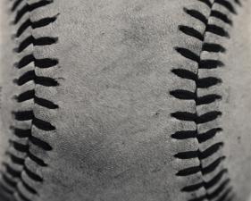 """Hiroshi Watanabe<br /> <em>Bull City Summer: Baseball, 2013</em><br /> gelatin silver print<br /> 14"""" x 14""""<br /> Edition of 15"""